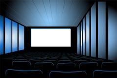 Vettore dell'interiore del cinematografo Fotografia Stock