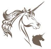 Vettore dell'unicorno Fotografia Stock