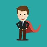 Vettore dell'uomo d'affari Hero Concetto royalty illustrazione gratis