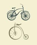 Vettore della bicicletta Immagine Stock