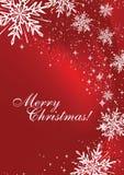 Vettore della cartolina di Natale Fotografie Stock Libere da Diritti
