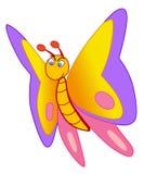 Vettore della farfalla Immagine Stock