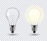Vettore della lampadina royalty illustrazione gratis