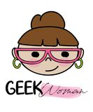 Vettore della ragazza del geek royalty illustrazione gratis