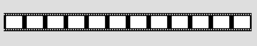 vettore della striscia di pellicola da 35 millimetri illustrazione vettoriale