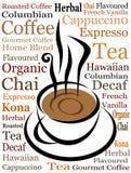 Vettore della tazza di caffè Fotografia Stock Libera da Diritti