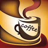 Vettore della tazza di caffè Illustrazione di Stock