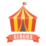 Vettore della tenda di circo Fotografia Stock