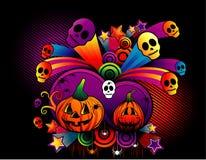 Vettore della zucca di Halloween Fotografia Stock