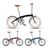 Vettore delle biciclette Fotografie Stock Libere da Diritti
