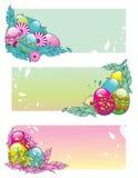 Vettore delle uova di Pasqua Immagini Stock
