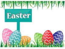 Vettore delle uova di Pasqua Fotografia Stock