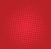 Vettore di Art Comic Red Background Illustration di schiocco Immagini Stock