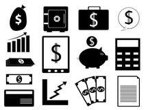 Vettore di attività bancarie Immagini Stock Libere da Diritti