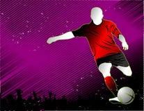 Vettore di calcio Fotografie Stock Libere da Diritti