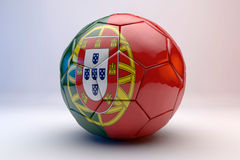 vettore di calcio della bandierina della sfera Immagini Stock Libere da Diritti