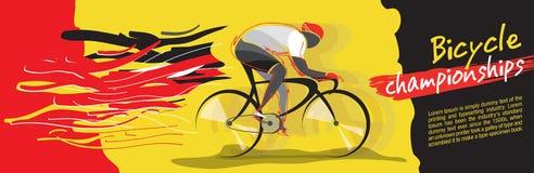 Vettore di campionato della bicicletta Immagini Stock