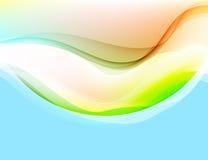 Vettore di curvatura traslucido di colori illustrazione di stock