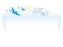 Vettore di disegno dell'intestazione di Web site Fotografia Stock