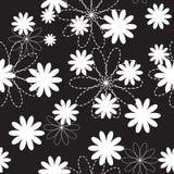 Vettore di Flora Flower Seamless Pattern Design Fotografia Stock Libera da Diritti