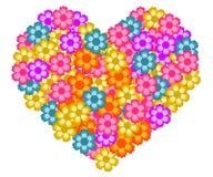Vettore di forma del cuore Fotografie Stock