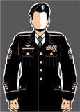 Vettore di Hero del soldato illustrazione vettoriale