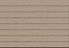 Vettore di legno marrone realistico del fondo del modello della plancia immagine stock libera da diritti
