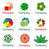 Vettore di logo della società variopinto Fotografia Stock