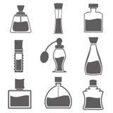 Vettore di Parfume Botlle Immagine Stock