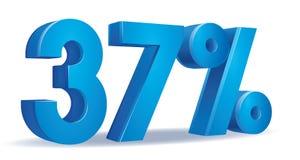 Vettore di percentuale, 37 Fotografia Stock Libera da Diritti