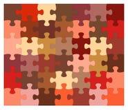 Vettore di puzzle Fotografia Stock Libera da Diritti