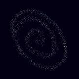 Vettore di spazio L'universo nello spazio nerezza illustrazione vettoriale
