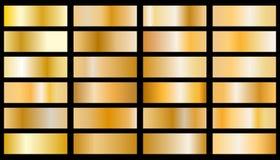 Vettore di struttura del fondo dell'oro illustrazione di stock