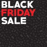 Vettore di vendita di venerdì del nero di autunno del modello Sconti di autunno il venerdì nero illustrazione vettoriale