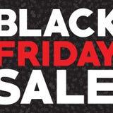 Vettore di vendita di venerdì del nero di autunno del modello Sconti di autunno il venerdì nero illustrazione di stock