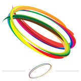 Vettore di vortice del Rainbow Fotografia Stock Libera da Diritti