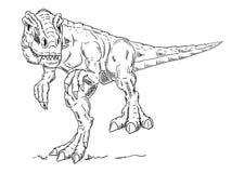Vettore - dinosauro Fotografia Stock Libera da Diritti