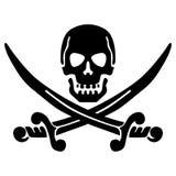 Vettore ENV disegnato a mano, vettore, ENV, logo, icona, crafteroks, illustrazione dell'elemento del pirata della siluetta per gl illustrazione di stock