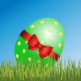 Vettore felice della decorazione di Pasqua Immagine Stock Libera da Diritti