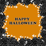 Vettore felice della struttura di Halloween Immagine Stock Libera da Diritti