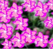 Vettore, fiori, estate, fondo floreale, colori luminosi, astrazione per un fondo floreale immagini stock libere da diritti