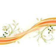 Vettore floreale del beckground Royalty Illustrazione gratis