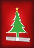 Vettore: Fondo dell'albero di Natale royalty illustrazione gratis