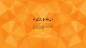 Vettore geometrico del fondo, grafico poligonale, struttura minima, progettazione della copertura, modello dell'aletta di filatoi illustrazione di stock