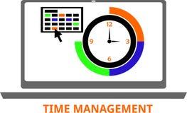 Vettore - gestione di tempo Fotografie Stock Libere da Diritti