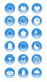 Vettore - icone Immagini Stock Libere da Diritti