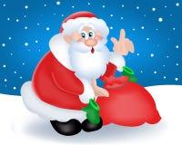 Vettore il Babbo Natale Fotografia Stock