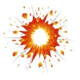 Vettore-Illustrazione di esplosione Immagine Stock