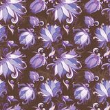 Vettore Lily Floral Pattern Fotografie Stock