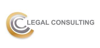 Vettore - logo moderno consultantesi legale di Copyright, isolato su fondo bianco Illustrazione di vettore illustrazione di stock